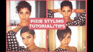 growing hair from pixie style to long style how to style growing out pixie short hair styling tutorial youtube