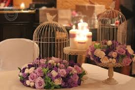 wedding reception table ideas purple ritz carlton laguna niguel