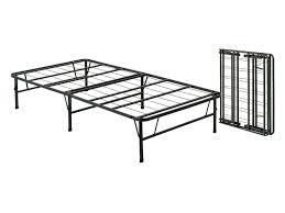 Modern Metal Bed Frame Bedroom Modern Stained Bi Fold Folding Metal Bed Frame Twin