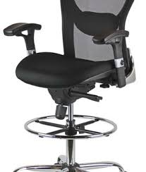 Office Chair For Standing Desk Amazing Office Chairs For Tall Desks Tall Chair For A Standing