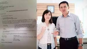 ahok batal cerai blak blakan netizen ini beberkan bukti kuat gugatan cerai ahok
