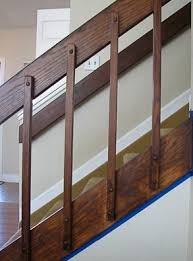 Gel Stain Banister 80s Banister And Entryway Update Hometalk