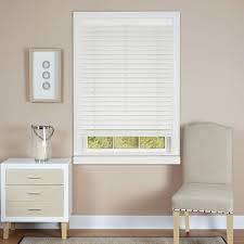 white faux wood blinds blinds the home depot