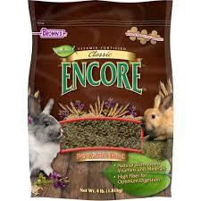 classic rabbit encore classic pet rabbit food f m brown s