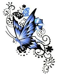 butterfly designs the is a canvas