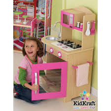 Childrens Wooden Kitchen Kidkraft by Kidkraft Pink Wooden Kitchen Set At Growing Tree Toys