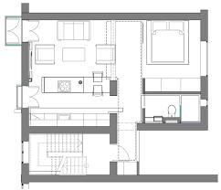 Efficiency Apartment Floor Plan Ideas 560 Square Foot Studio Apartment In Iceland Decor Advisor