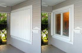 Hurricane Awnings Accordian Hurricane Shutters Slide Them Out When The Inclement