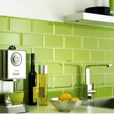 Kitchen Design Tiles Metro Lime Green Wall Tiles 200mm X 100mm Banheiro Pinterest