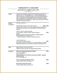 resume formats word resume format on microsoft word