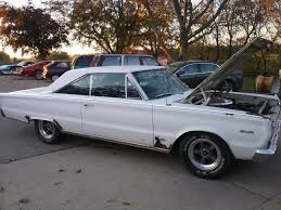 rusty car driving rare find rust hid a very original 1966 plymouth satellite hemi