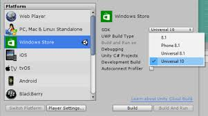 unity microsoft porting guides
