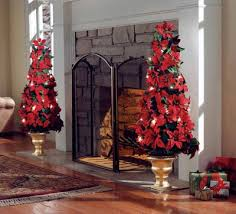 lighted poinsettia floral topiary help