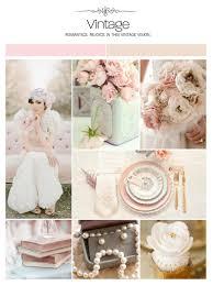 vintage wedding inspiration board color palette mood board