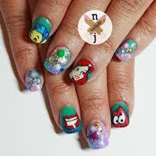 imagenes de uñas pintadas pequeñas ejemplos de uñas decoradas al estilo disney decoración de uñas