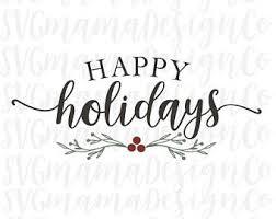 happy holidays etsy