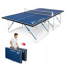 eastpoint sports table tennis table 12mm fold n store table tennis table