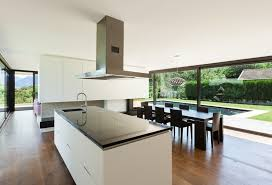 Modern Kitchen With Island Kitchen Black And White Modern Kitchen Island With Stainless