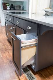 Pull Out Trash Can 15 Inch Cabinet Kitchen Hacks To Organize And Make Your Kitchen Flow Better