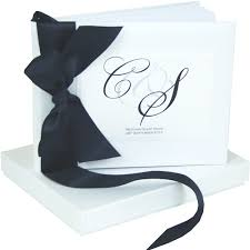 monogrammed wedding guest book the traditional monogram wedding guest book tradiional wedding