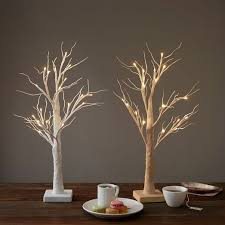 led tabletop trees west elm