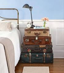 common items as unusual bedside tables suitcase nightstands and