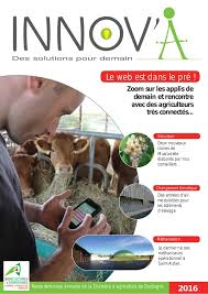 revue chambres d agriculture l emploi en agriculture et agro innov a 2016