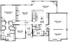 one house plans with 4 bedrooms floor plan vastu efficiency design basement home blueprints