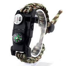 paracord braided bracelet images Braided bracelet unisex led light multifunctional paracord jpg