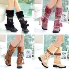 s boots with fur fashion s boots winter warm boots thicken fur scrub