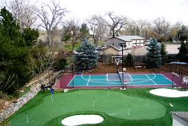 Build A Basketball Court In Backyard The Dangers Of A Diy Basketball Court Sport Court