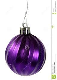 hanging purple ornament stock image image 12688651