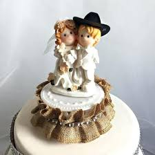 cowboy wedding cake toppers cowboy wedding cake toppers topper unique creations western