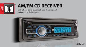 Cd Player With Usb Port For Cars Amazon Com Dual Electronics Xd250 Multimedia Detachable Lcd