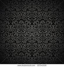 seamless wallpaper pattern black stock vector 50275432 shutterstock