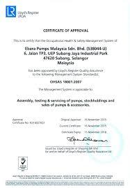 Resume Sample Format Malaysia by Ebara Pumps Malaysia Career