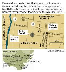 Superfund Sites Map by Clean Up Near Vineland Superfund Site Involves New Lawns