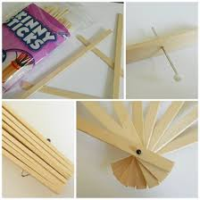 how to make fans how to make paper fans la ceremonia fans craft