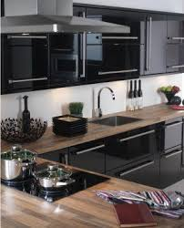Black Gloss Kitchen Cabinets I These High Gloss Cabinets But Never Considered The Wood
