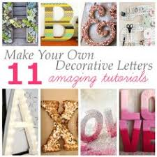 15 ways to decorate wood letters home decor pinterest wood