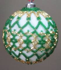 1468 best beaded covered ornaments images on beaded