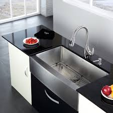 36 inch farmhouse sink kraus 36 inch farmhouse single bowl stainless steel kitchen sink