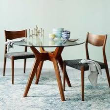 West Elm Tripod Table West Elm Scoop Back Chair Tripod Apartments And Breakfast Nooks