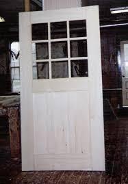 Glass Exterior Door Custom Built Wood Exterior Doors Entryway Arch Top Reproduction