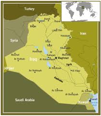 baghdad world map frontline world iraq and lies in baghdad map of iraq pbs