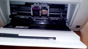 replacing cartridge on hp deskjet 1510 1515 1516 all in one printers