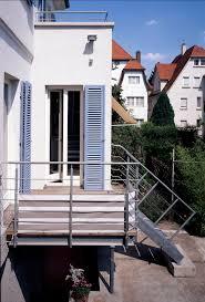 balkon mit treppe ein balkon mit treppe wurde der küche vorgelagert hier aus