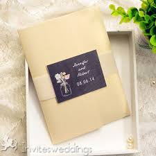 pocket invitation kits affordable pocket jars wedding invitation kits iwpi007
