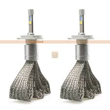 luxen led headlight fog light bulb 40w 5000 lumen 6000k
