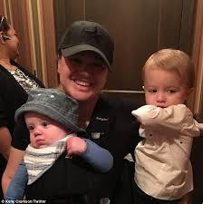 Brandon Flowers Son - kelly clarkson celebrates her son remington u0027s 1st birthday daily
